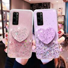 For Samsung Galaxy S20 Note 10 Plus S10+A21 Bling Glitter Clear Phone Case Cover