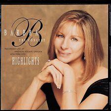 Audio CD - Barbra Streidand The Concert Highlights - People - The Way We Were