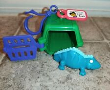 Sonic Wacky Pack Pet Keeper Green Kennel With Iguana Lizard 2001