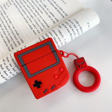 Game Boy (Red) Apple AirPods Case Generation 1 & 2