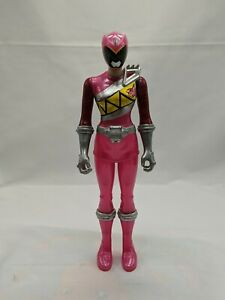 """Power Rangers Dino Charge Pink Ranger 12"""" Poseable Action Figure 2014 Bandai"""