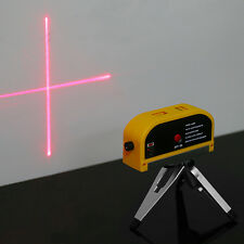 Multifunction Laser Level Cross Line W/Tripod Vertical Horizontal Measure Tool