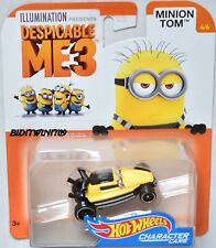 HOT WHEELS 2017 ILLUMINATION DESPICABLE ME 3 MINION TOM #4/6 CHARACTER CARS