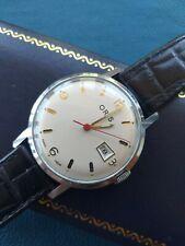 Vintage Oris Gents Watch SWISS H.W.MECH 7 jewels SHOCKPROOF Warranty-Watch box