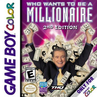 Who Wants To Be A Millionaire Game Boy Color On Gameboy Trivia Game Only 4E