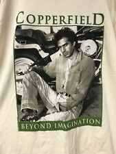 T-SHIRT COOPERFIELD TOUR TEE SHIRT VINTAGE AMERICAN MAGICIAN MAGIC NOS