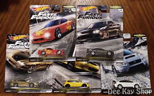 Fast & Furious Fast Tuners Complete Set of 5 - Hot Wheels Premium (2020)