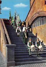Cartolina Orvieto Corteo Storico Anteriore Rappresentanti Quartiere Olmo Costumi