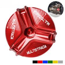 Für Ducati Multistrada 1200/1260/1200S Öleinfülldeckeldeckel Motorablassschraube