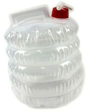 NEW COLLAPSIBLE WATER CARRIER CONTAINER CAMPING FESTIVAL PICNIC 5L TRAVEL SUMMER