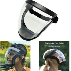 Active Shield Full Face Mask Protector Cycling Sports Safety Transparent Shield