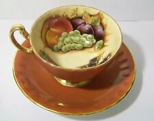 Aynsley Orchard Fruit Cup and Saucer