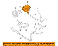 FORD OEM 05-10 Mustang-Power Steering Pump AR3Z3A674ARM