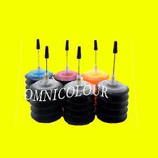 30ml x 6 kit de recharge encre pour Canon cartouche PGI-550 CLI-551 rechargeable