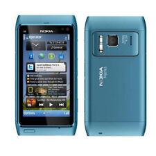 Blue Nokia Lumia N8 N8-00 GPS 3G Wifi 16GB Smartphone Original Unlocked