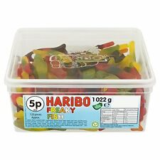 Bañera de 1 Dulces Retro de Haribo Freaky pescado al por mayor Descuento trata Fiesta Candy Box