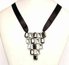 Crystal Acrylic Bib Fashion Necklaces & Pendants