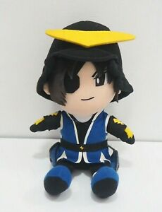 "Sengoku Basara Date Masamuse Capcom Algernon Plush 9"" Toy Doll Japan"