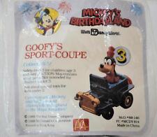 Goofy's Sport Coupe #3 1988 McDonalds Happy Meal Toy Birthdayland