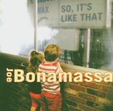 Joe Bonamassa - So It's Like That NEW CD