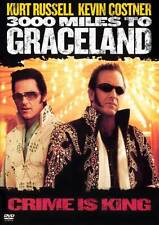 3000 MILES TO GRACELAND Movie POSTER 27x40 B Kevin Costner Kurt Russell