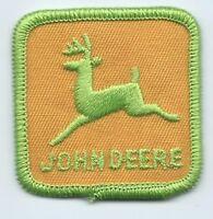 John Deere patch 2 X 2 small size. #7500