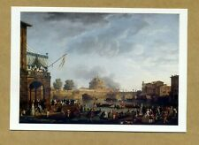 CLAUDE-JOSEPH VERNET - A SPORTING CONTEST ON THE TIBER **** UNUSED POSTCARD
