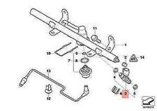 MINI COOPER R50 Fuel Injector 1.6 Petrol 13537572995 7572995 NEW GENUINE 2005