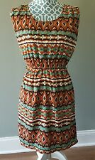 Altard State Sleeveless Dress Aztec Womens Size S