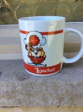 VINTAGE NOS COFFEE MUG #038- Loacker Logo