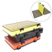 Fischköder Box doppelseitige Angelgerät Box Fischköder Zubehör Box An U_M