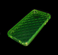 NEW SOFT PLASTIC GREEN APPLE IPHONE 4 4S SMARTPHONE CASE SUPER FAST SHIPPING