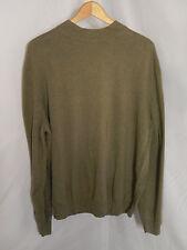 Men's Cezani Green Long Sleeve Shirt Fine Cotton Blend; Size XXL