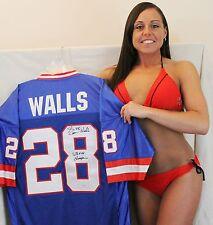 Everson Walls signed  jersey NY Giants Super Bowl XXV Champion Inscription