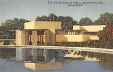 Lakeland Florida admin blgd Florida Southern College antique pc Z19669