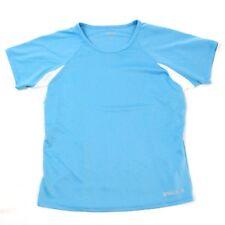MARMOT Womens Active Top Baby Blue Vented Jersey Tee Size Medium Short Sleeve M