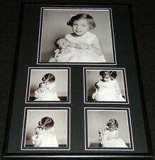 Caroline & John Kennedy Jr Framed 12x18 Photo Collage