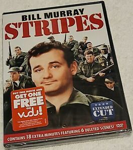 Stripes DVD Bill Murray brand new