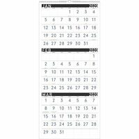 """2020 AT-A-GLANCE 12"""" x 27"""" 3 Month Reference Wall Calendar Contemporar 24390814"""