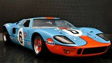 Ford 1967 GT40 Built GT 1 Race Sport Car T 24 Exotic 12 Carousel Red 20 Model 18