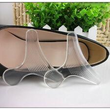 1 paio figura trasparente T visibile Scarpe silicone tallone Cusc o