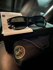 Black Ray Ban Wayfarer Sunglasses Unisex (Free Same Day Shipping)