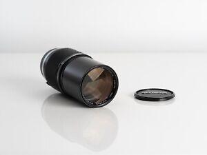 Olympus OM-System E.Zuiko MC Auto-T 200mm f/4 Manual Focus Lens