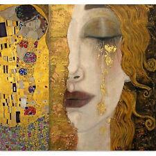 Hd Print Canvas Gustav Klimt's Oil Painting Art Home Decoration 21*23 in