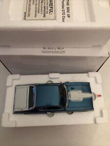 1969 Pontiac GTO Coupe ROYAL BOBCAT Blue 1:24 Danbury Mint Limited Edition