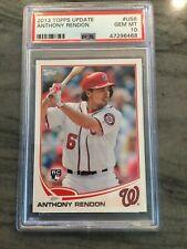 2013 Topps Update Anthony Rendon #US8 Rookie PSA 10 gem mint