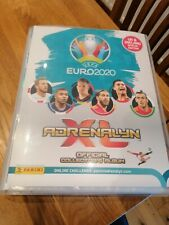 PANINI ADRENALYN XL EURO 2020 FULL SET. ALL 468 CARDS+BINDER +12 LIMITED EDITION