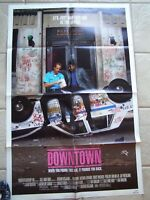 Vintage Movie Poster 1 sheet Downtown 1989 Forrest Whitaker, Joe Pantoliano