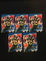 2020 Panini Prestige Justin Herbert RC Rookie Xtra Points Green Parallel # 266 1