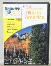 Discovery Channel  World Geography DVD's North America South America Grades 6-12